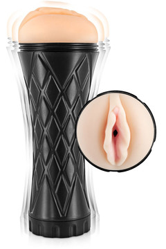 Мастурбатор вагина Real Body Real Cup Vagina Vibrating - фото