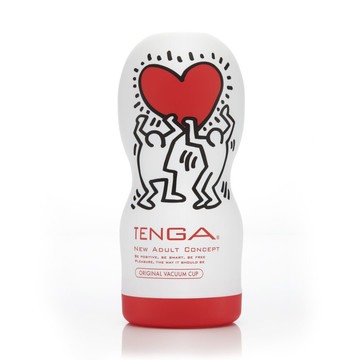 Мастурбатор Tenga Keith Haring Deep Throat Cup - фото