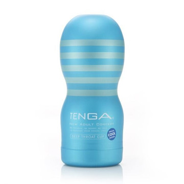 Мастурбатор Tenga Deep Throat Cup Cool Edition - фото